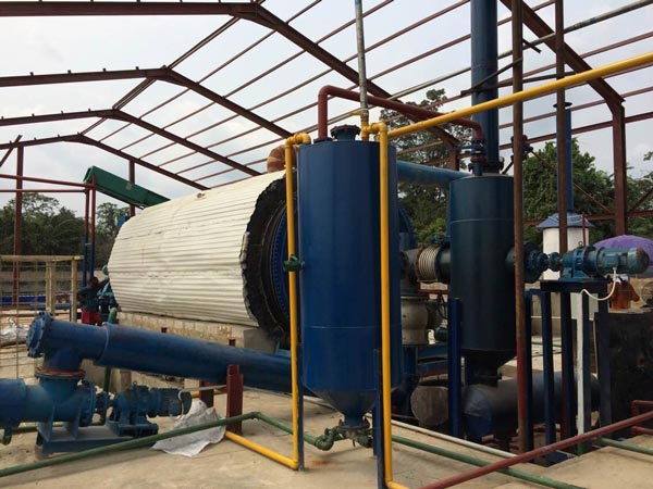 Plastic Pyrolysis Plant Was Successfully Installed In Nigeria