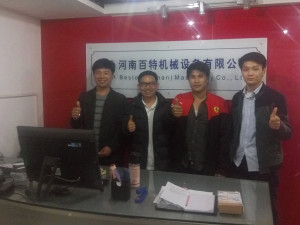 The Thailand Customers Came To Visit Our Company