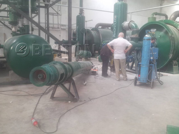 Pyrolysis Plant In Turkey