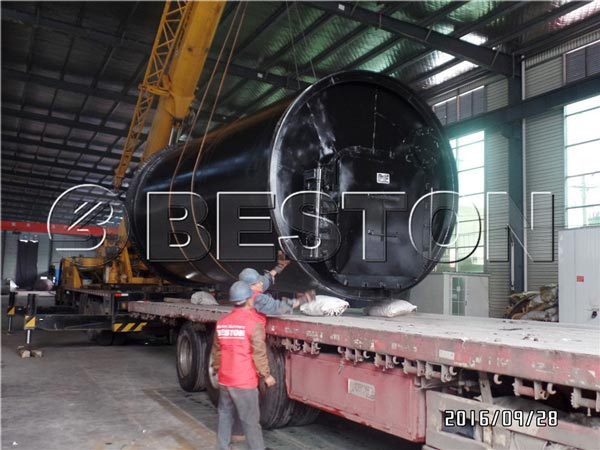 BLJ-10 Pyrolysis Machine Was Being Shipped To South Korea