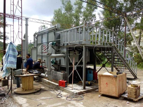 Beston Carbonization Machine in Malaysia