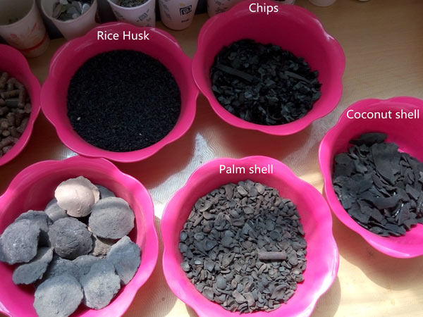 Charcoal Samples