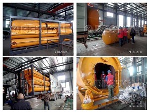 10-tons-Tyre-Pyrolysis-Plant-Was-Send-to-Indonesia
