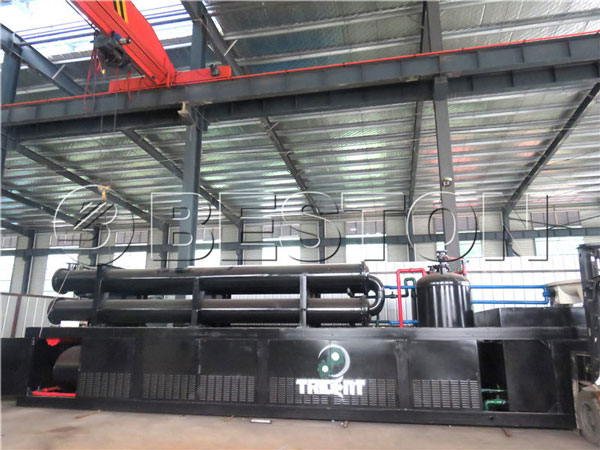 BLL-30 waste pyrolysis machine to South Africa