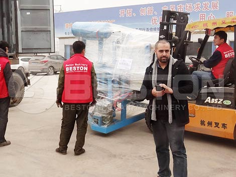Deliver to Algeria on Time